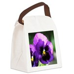 pansy mousepad Canvas Lunch Bag