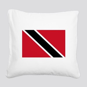 trinidad-and-tobago_b Square Canvas Pillow