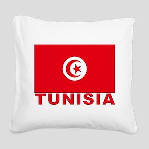tunisia_b Square Canvas Pillow