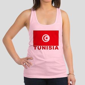 tunisia_b Racerback Tank Top