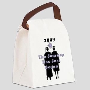graduates09 journey Canvas Lunch Bag