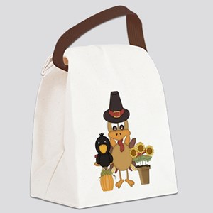 Thanksgiving Friends Canvas Lunch Bag
