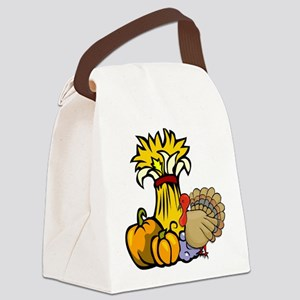 thanksgiving central redone Canvas Lunch Bag