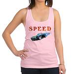 speed car Racerback Tank Top