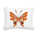 'Butterfly Tattoos Rectangular Canvas Pillow