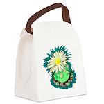 Desert Cactus Canvas Lunch Bag