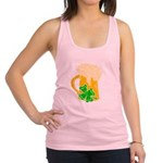 Irish Beer By The Pitcher Racerback Tank Top