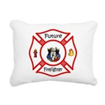 Future Firefighter Rectangular Canvas Pillow