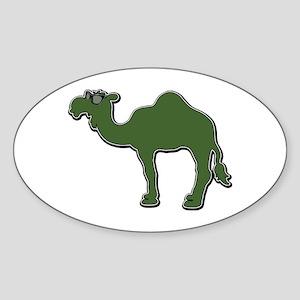 Cool Camel Sticker (Oval)