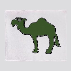Cool Camel Throw Blanket