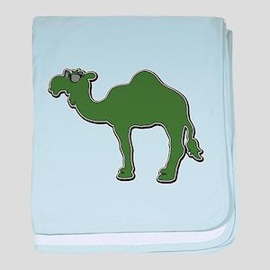 Cool Camel baby blanket
