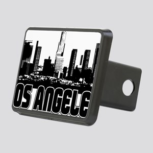 Los Angeles Skyline Rectangular Hitch Cover