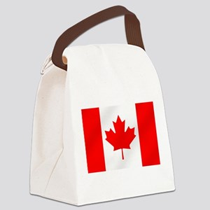 Canadian Flag Canvas Lunch Bag