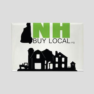 NHBL Farm Logo Rectangle Magnet