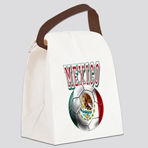 Futbol Mexicano Canvas Lunch Bag