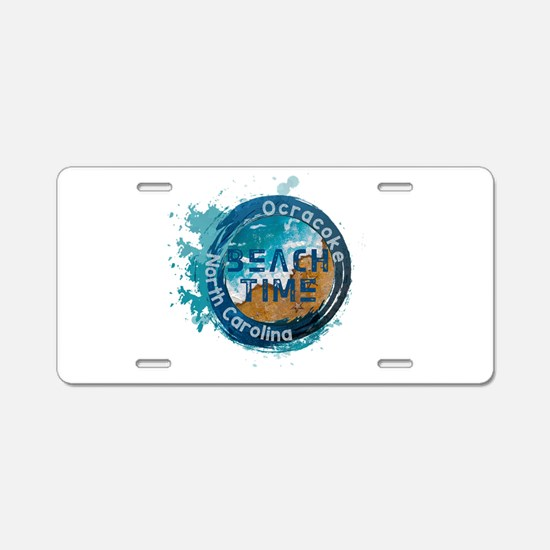 North Carolina - Ocracoke Aluminum License Plate