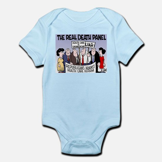 Real Death Panel Infant Bodysuit