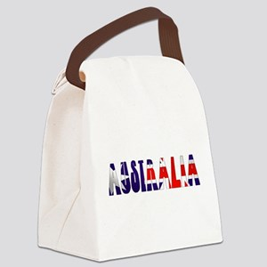 Australia Logo Canvas Lunch Bag