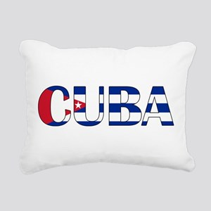 Cuba Logo Rectangular Canvas Pillow