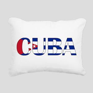 Cuba Rectangular Canvas Pillow
