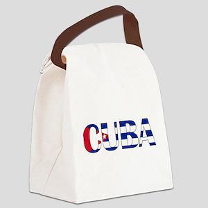 Cuba Logo Canvas Lunch Bag
