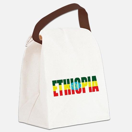 Ethiopia Logo Canvas Lunch Bag