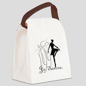 Je danse Canvas Lunch Bag