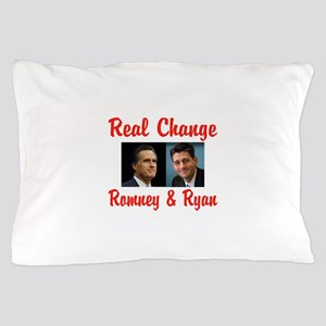 ROMNEY CHANGE COMING Pillow Case