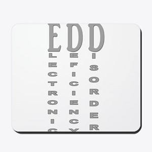 Electronic Deficiency Disorder Mousepad