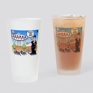 Immigration Law Drinking Glass