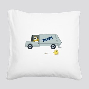 Oh No Square Canvas Pillow
