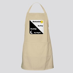 Botanist by day Daddy by night Apron