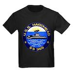 USS HARDHEAD Kids Dark T-Shirt