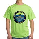 USS HARDHEAD Green T-Shirt