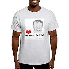 I love my grandchild Ash Grey T-Shirt
