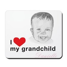 I love my grandchild Mousepad