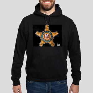 Secret Service Badge Hoodie (dark)