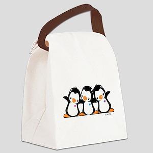 Penguins (together) Canvas Lunch Bag