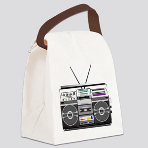 boombox1 Canvas Lunch Bag