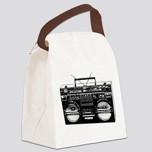 boombox3 Canvas Lunch Bag