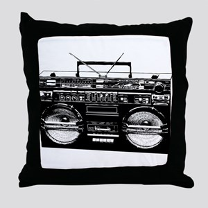 boombox3 Throw Pillow