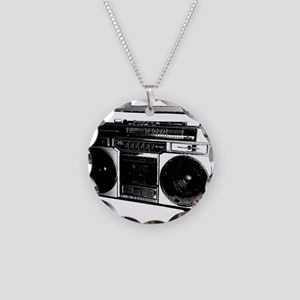 boombox5 Necklace Circle Charm