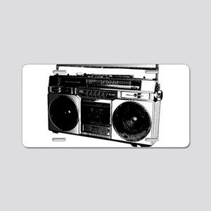 boombox5 Aluminum License Plate
