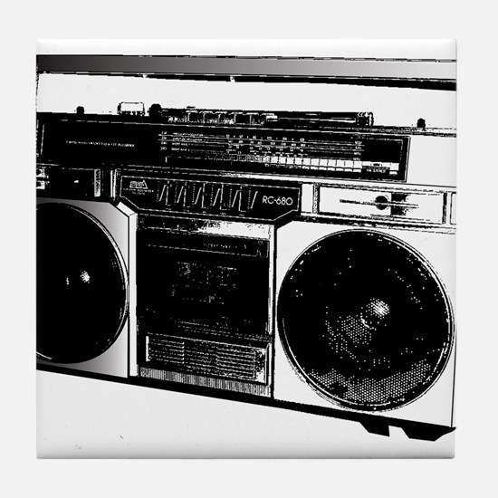 boombox5.png Tile Coaster