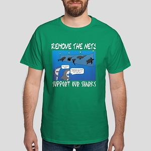 Remove the nets Dark T-Shirt