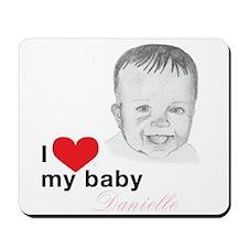 baby Danielle Mousepad