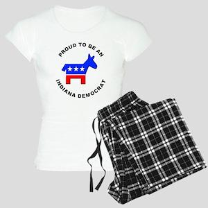 Indiana Democrat Pride Women's Light Pajamas