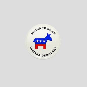 Indiana Democrat Pride Mini Button (10 pack)