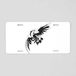 Hawk Aluminum License Plate