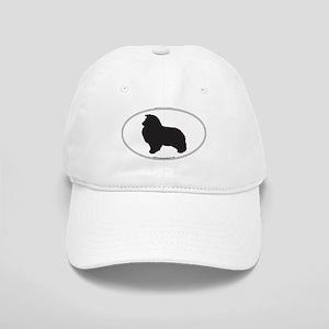 Shetland Sheepdog Silhouette Cap